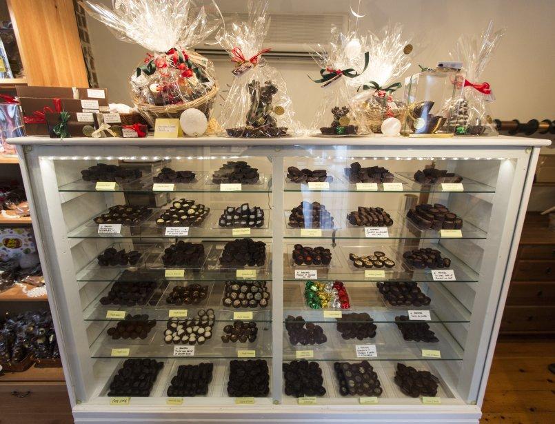 Chocolaterie Le Divin Tandem (Photo: Olivier Pontbriand, La Presse)