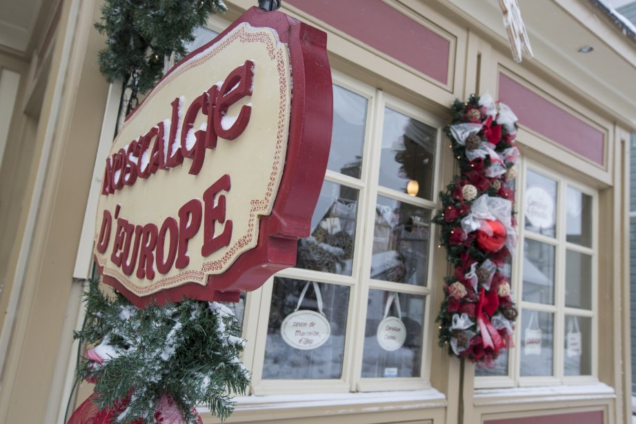 La boutique Nostalgie d'Europe (Photo: Olivier Pontbriand, La Presse)