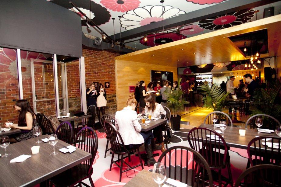 Le Kinoya, exemple de restaurant asiatique nouveau genre... (Photo : Sarah Mongeau-Birkett, La Presse)