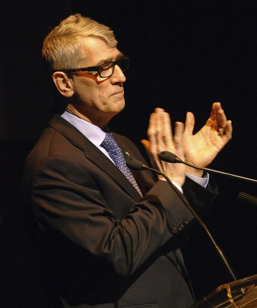 Me Pierre Mazurette, président de Diffusion Saguenay (Photo Michel Tremblay)