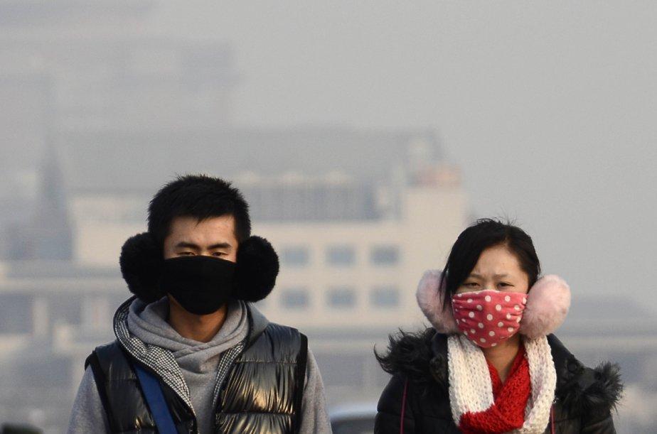 Journée de smog à Beijing | 18 janvier 2013