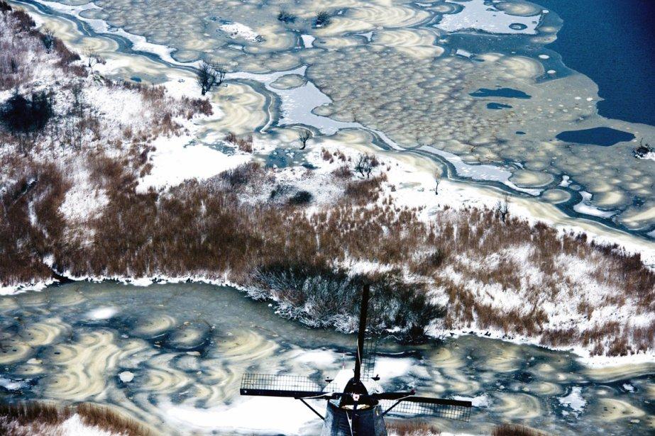 Scène d'hiver aux Pays-Bas. | 18 janvier 2013