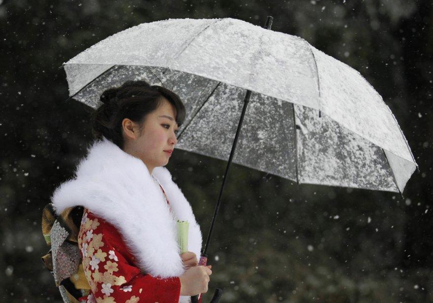 Journée enneigée à Tokyo. | 18 janvier 2013