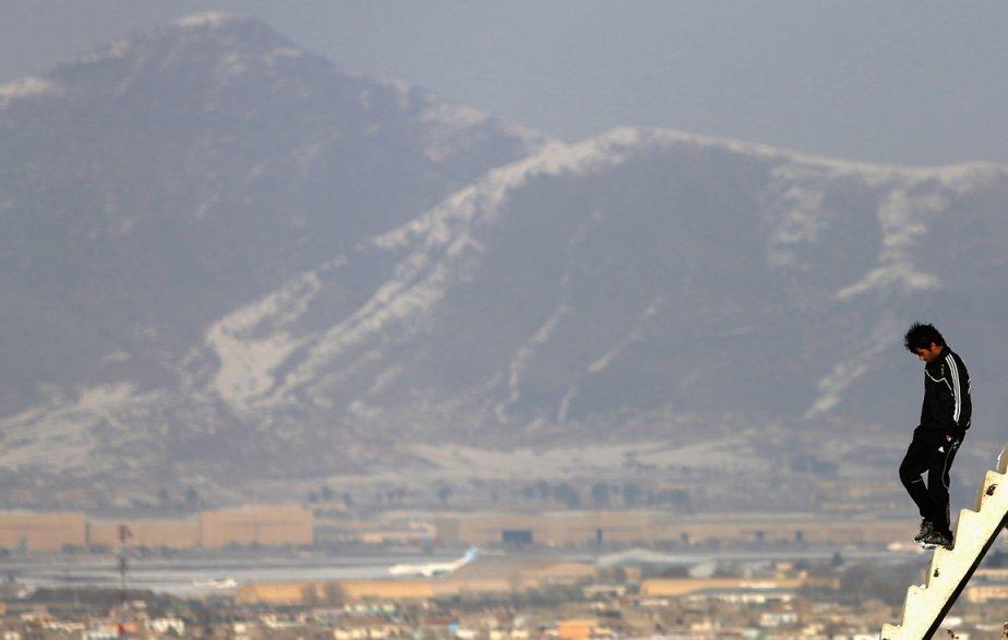 Un jeune afghan à Kaboul | 18 janvier 2013