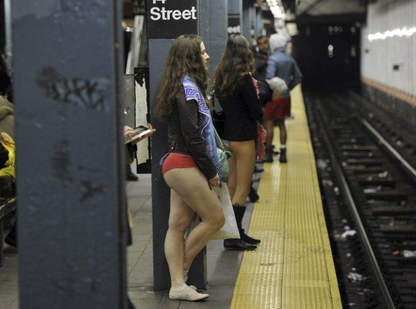 Journée sans pantalons dans le métro de New York... | 18 janvier 2013