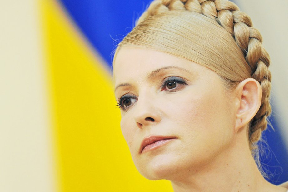 L'ex-première ministre Ioulia Timochenko.... (PHOTO SERGEI SUPINSKY, ARCHIVES AFP)