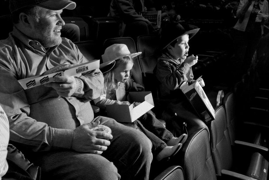 Ruthie Alley et son frère, Rowdy, sont venus du Connecticut avec leur père pour assister au rodéo. | 18 janvier 2013