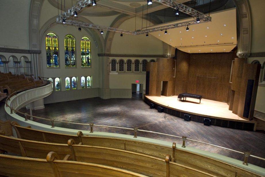 Le concert avait lieu à la salle Bourgie.... (Photo d'archives Alain Roberge, La Presse)