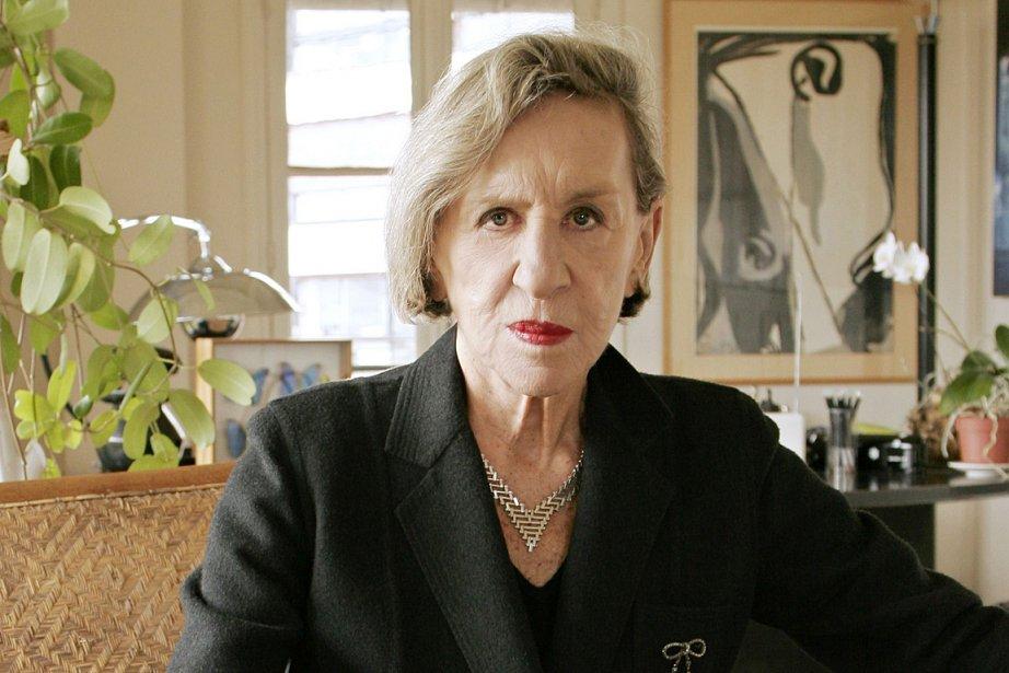Andrée Putman, photographiée en 2006.... (Photo: AFP)
