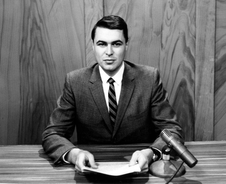 Richard Garneau, en 1960. | 20 janvier 2013