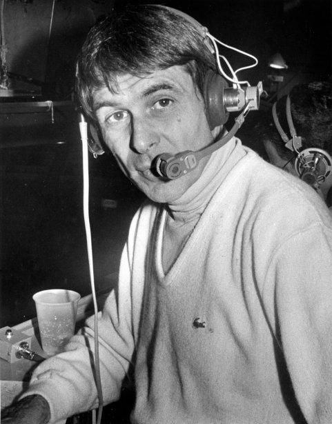 Le commentateur Richard Garneau, en 1979. | 20 janvier 2013