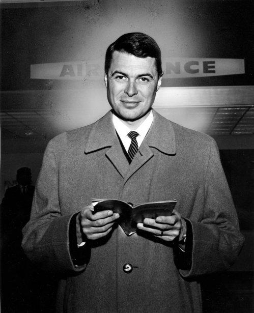 Richard Garneau en route pour Vienne, en 1967. | 20 janvier 2013