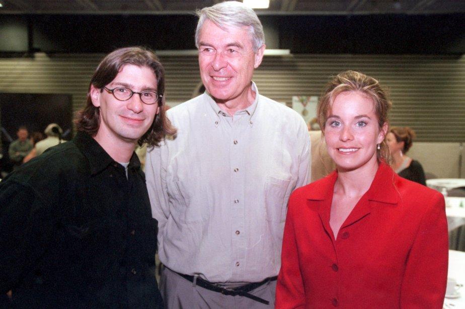 Jean-René Dufort, Richard Garneau et Annie Pelletier en 2000, en préparation pour les Jeux olympiques de Sydney. | 20 janvier 2013