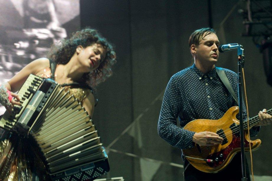 Régine Chassagne et Win Butler d'Arcade Fire... (Photo: archives La Presse Canadienne)