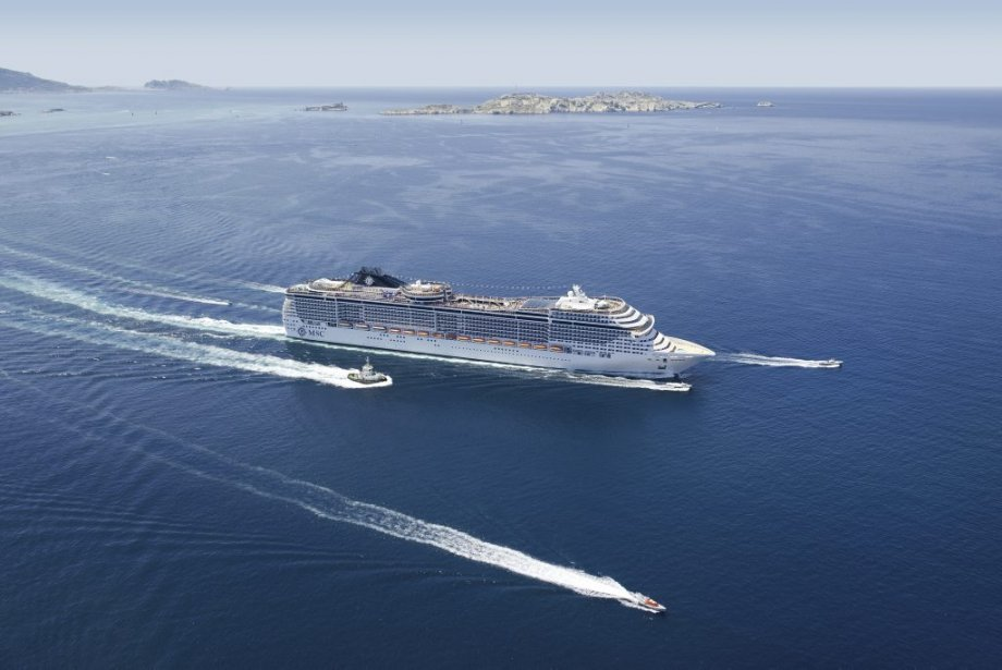 Le MSC Divina. (Photo fournie par MSC)