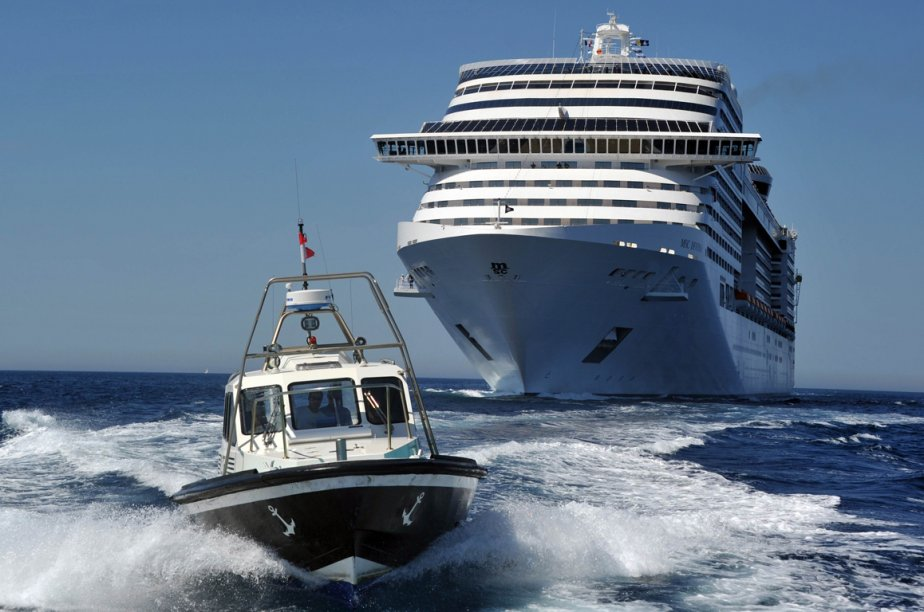 Le MSC Divina. (Photo Reuters)