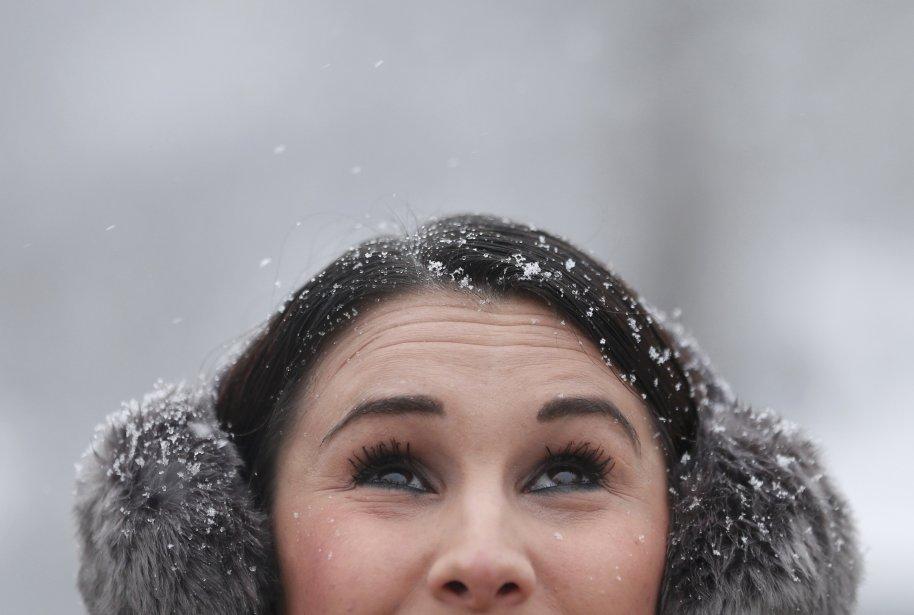 Sous la neige au parc St James, au centre de Londres. | 21 janvier 2013