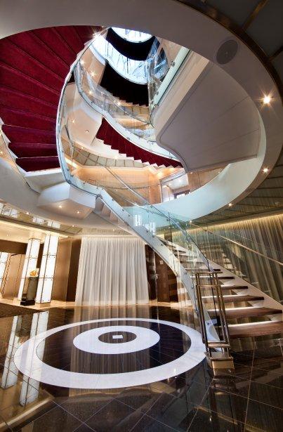 Marina privée, grand spa et hall luxueux font partie des aménagements du Seabourn Quest. | 21 janvier 2013