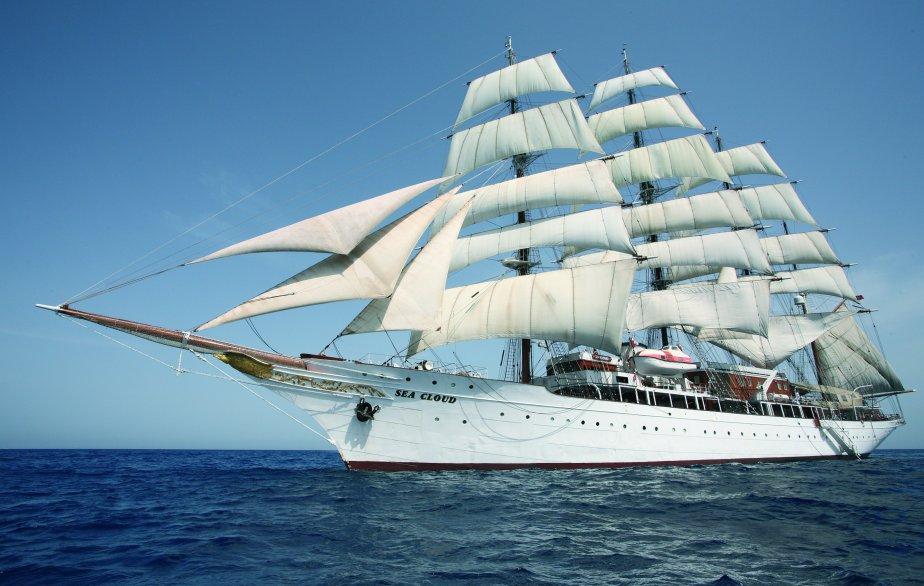 Le Sea Cloud est un voilier qui peut faire voyager en même temps 64 passagers, répartis dans 32 chambres. | 21 janvier 2013