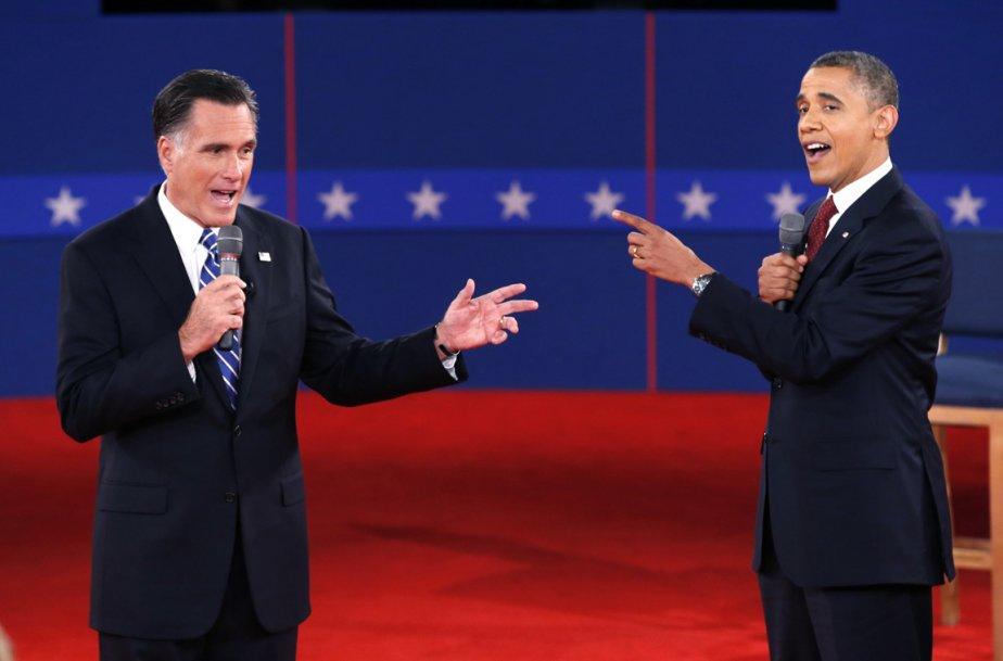 Débat télévisé entre  le candidat républicain Mitt Romney et Barack Obama, le 16 octobre 2012 | 21 janvier 2013