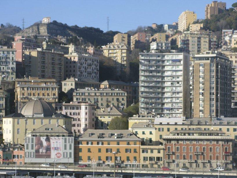 Gênes en Italie. | 21 janvier 2013