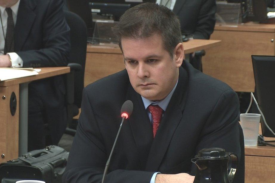 L'ex-organisateur politique Martin Dumont.... (Photo: tirée d'une vidéo, La Presse)