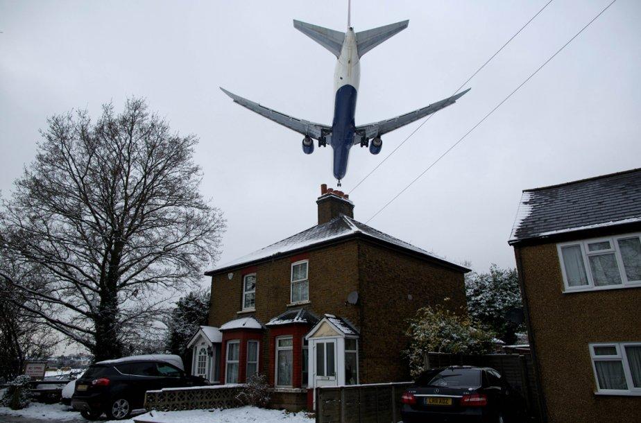 Près de l'aéroport d'Heatrow en Angleterre | 21 janvier 2013