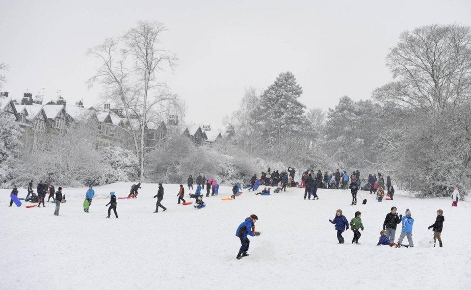 Le parc de Valley Gardens à Harrowgate dans le nord de L'Angleterre | 21 janvier 2013