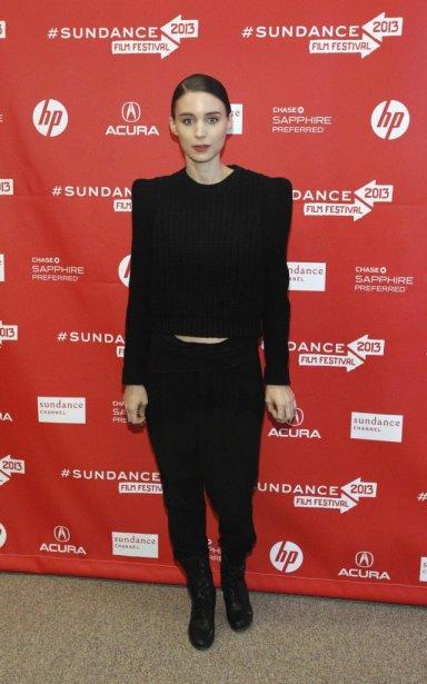 Rooney Mara à la première de Ain't Them Bodies Saints | 21 janvier 2013