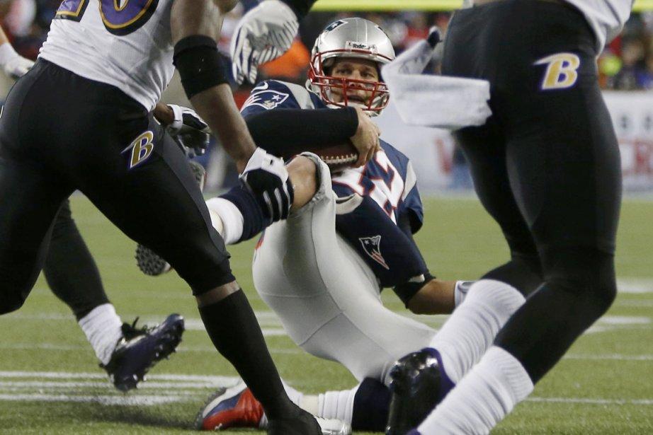 Tom Brady a subiune élongation au genou.... (Photo: Reuters)