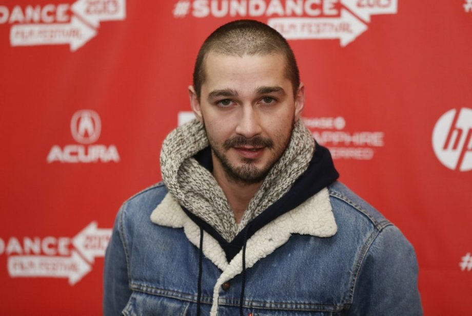 Shia LaBeouf à la première de The Necessary Death of Charlie Countryman. | 22 janvier 2013