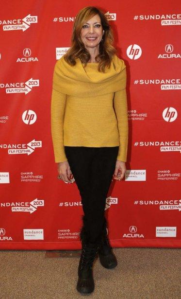 Allison Janney à la première de The Way, Way Back. | 22 janvier 2013