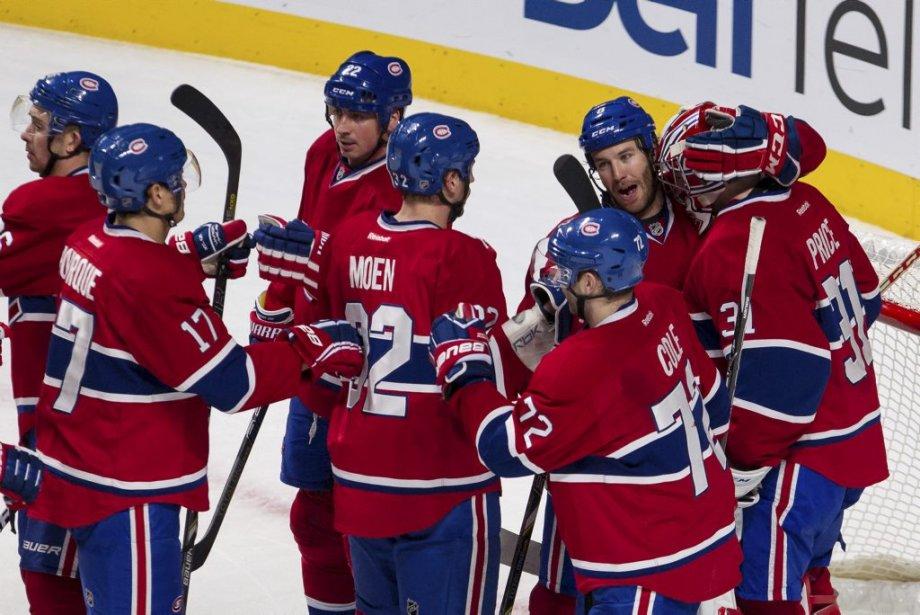 Le CH a su rebondir après une performance décevante contre les Leafs, samedi dernier au Centre Bell. (PHOTO EDOUARD PLANTE-FRÉCHETTE, LA PRESSE)