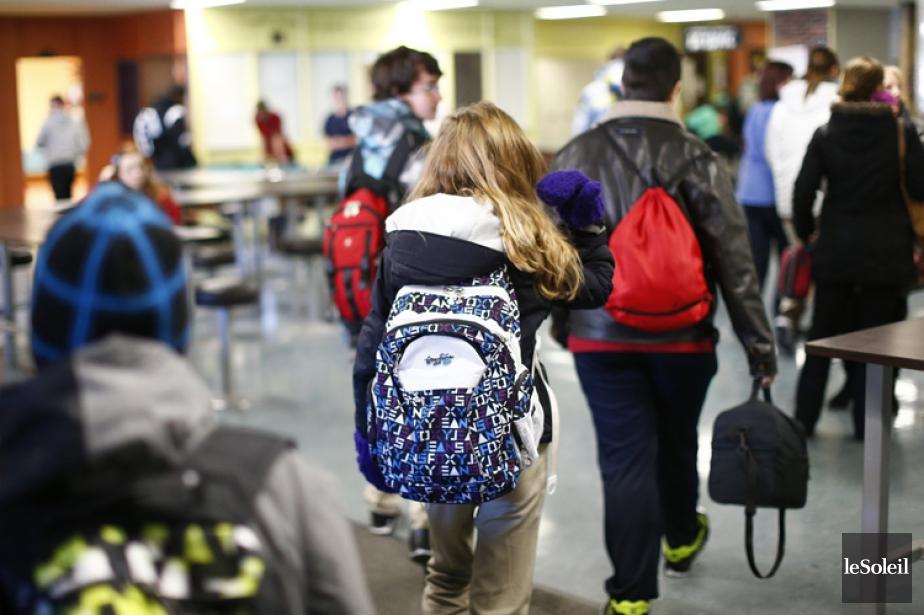 La gestion des conflits avec les élèves, les... (Photothèque Le Soleil)