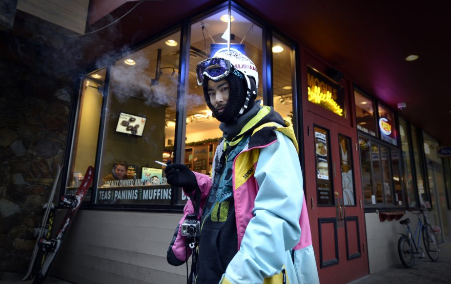 Le café Moguls, à Whistler. | 23 janvier 2013