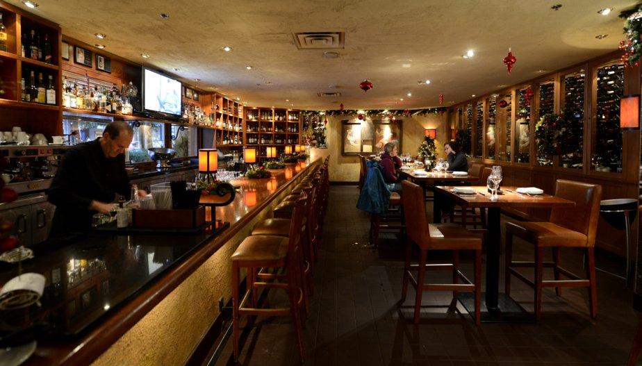 Le restaurant Araxi. | 23 janvier 2013