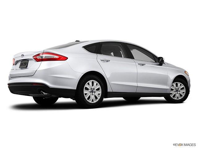 Ford - Fusion 2013: de classe mondiale - Berline 4 portes SE traction intégrale - Plan latéral arrière (Evox)