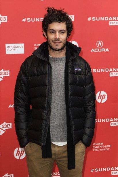 Adam Brody à la première de Lovelace. | 23 janvier 2013