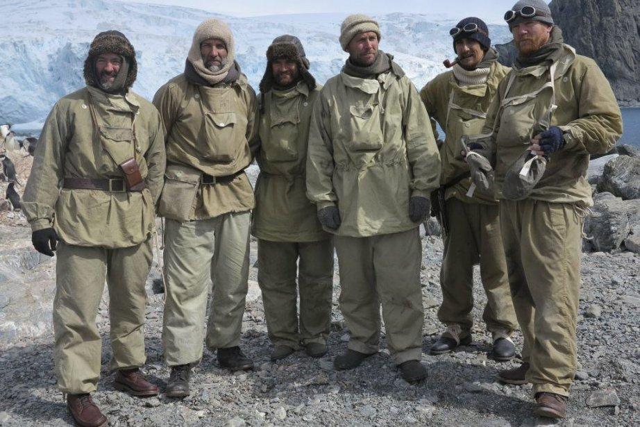 Une photo de l'équipe qui est parti vers... (Photo Agence France-Presse)