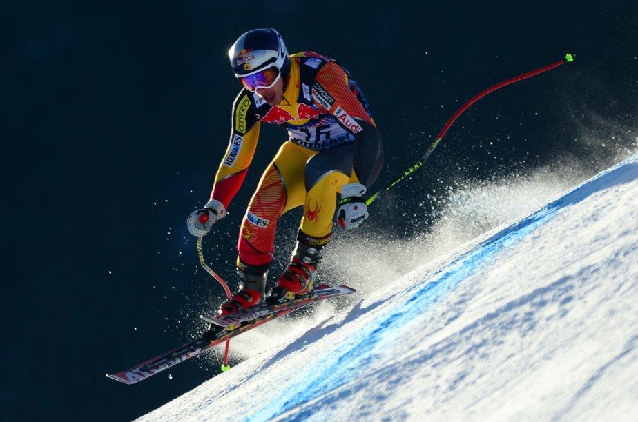 Le meilleur Canadien a été Érik Guay qui... (Photo AFP)