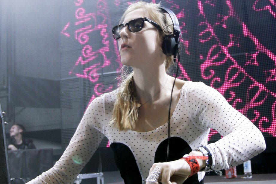 Ellen Allien... (Photo: fournie par Igloofest)