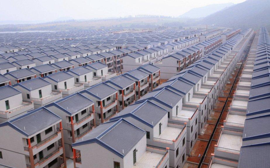 Le nouveau village de Dadun en Chine. | 24 janvier 2013