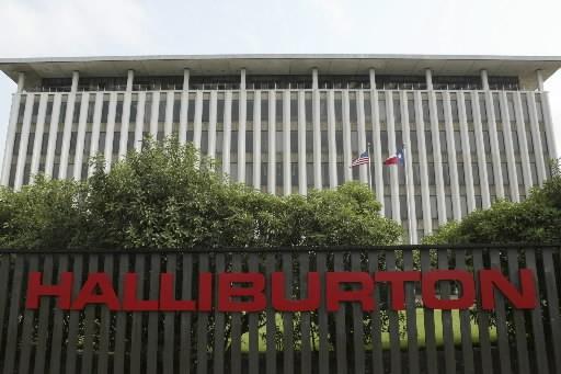 Le groupe américain de services pétrolier Halliburton (