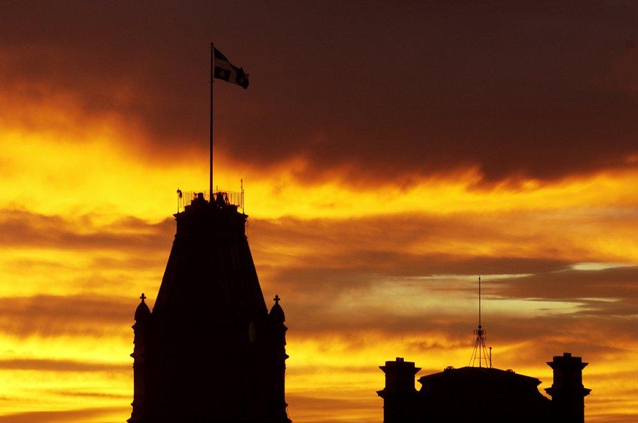 L'édifice de l'Assemblée nationale du Québec.... (Photo archives Gesca)