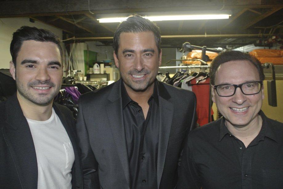 Alexandre Despatie, Benoît Gagnon et Jean-Marc Généreux. | 25 janvier 2013