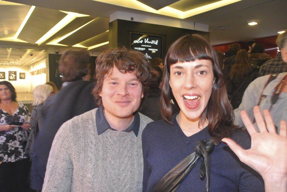 L'animatrice Catherine Pogonat et son grand ami Yann Perreau. | 25 janvier 2013