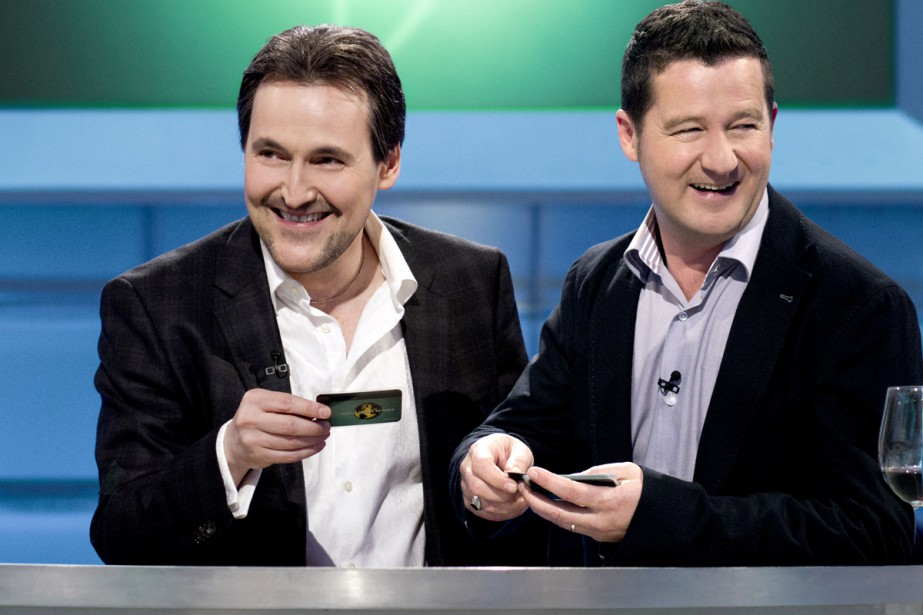 Guy A. Lepage et Dany Turcotte à Tout... (PHOTO FOURNIE PAR RADIO-CANADA)