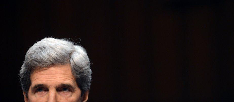 Le sénateur américain John Kerry à Washington. | 25 janvier 2013