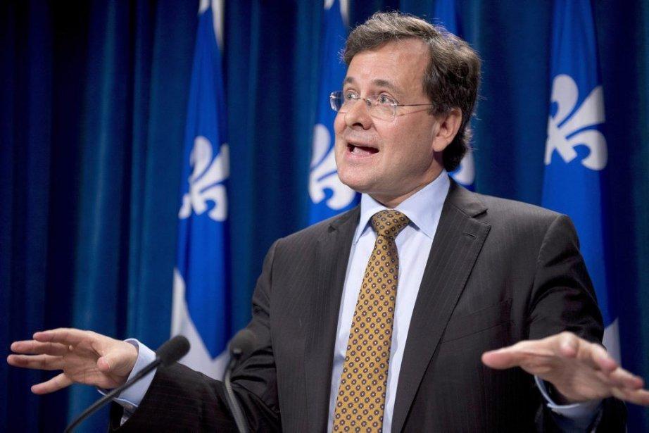 Vendredi dernier, le ministre de la Justice, Bertrand... (Photo La Presse Canadienne)
