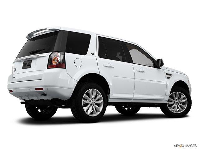 Land Rover LR2 2013: Par monts et par vaux  - Traction intégrale, 4 portes - Plan latéral arrière (Evox)